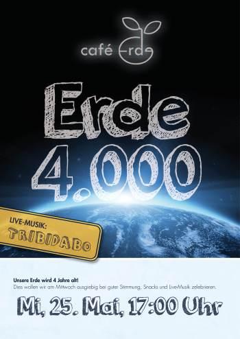 Erde 4000 Plakat