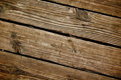 Holzboden-Terrasse